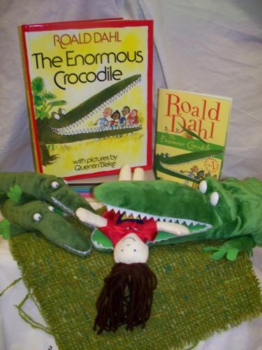 Enormous Crocodile workshop