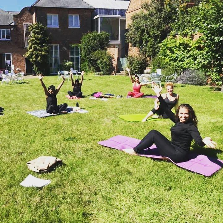 Yoga at Bucks Museum